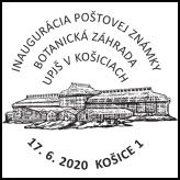 Inaugurácia poštovej známky Botanická záhrada UPJŠ v Košiciach