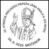 25. výročie príchodu pápeža Jána Pavla II. do Nitry