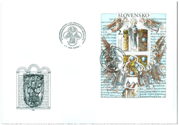 Special Cover: The 1150th Anniversary of the Consecration of St. Methodius, Archbishop of Great Moravia and Pannonia