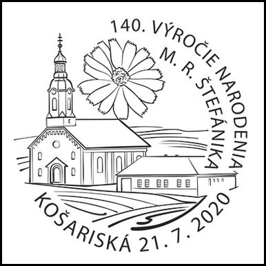 140. výročie narodenia gen. M. R. Štefánika