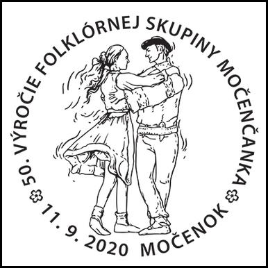 50. výročie folklórnej skupiny Močenčanka