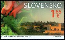 Spoločné vydanie s Maltou: Vinohradníctvo na Malte