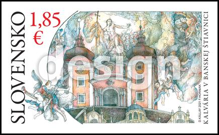 Krásy našej vlasti:  Kalvária v Banskej Štiavnici