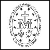 1830 - Zjavenie sa Panny Márie sv. Kataríne Labouré
