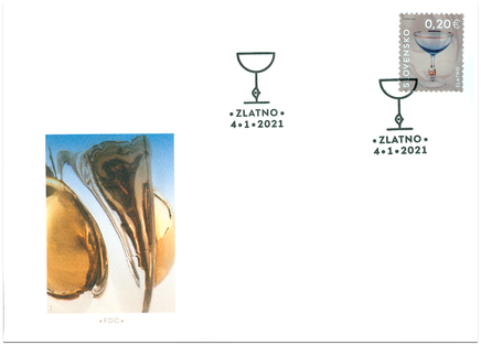 Slovak Applied Arts: The Golden Suzanne Collection, from the Zlatno Glass Factory