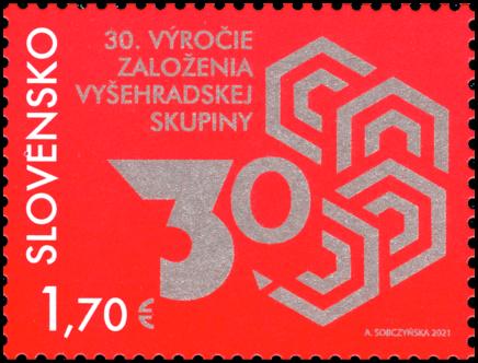Spoločné vydanie s Poľskom, Maďarskom a ČR: 30. výročie založenia Vyšehradskej skupiny