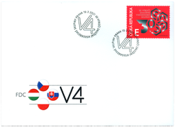 FDC Czech Issue : 30th Anniversary of the Foundation of the Visegrad Group