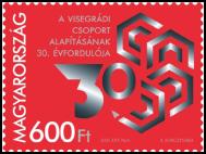 Maďarské vydanie: 30. výročie založenia Vyšehradskej skupiny