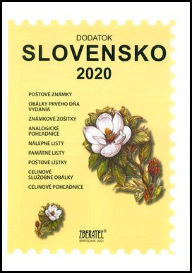 Dodatok katalógu Slovensko 2020