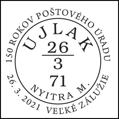 150 rokov poštového úradu Veľké Zálužie