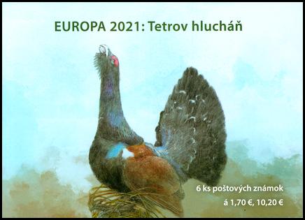 EUROPA 2021: Tetrov hlucháň