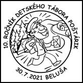 10. ročník detského tábora Poštárik