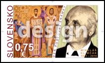 Postage Stamp Day:  Mikuláš Klimčák (1921 – 2016)