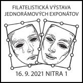 Filatelistická výstava jednorámových exponátov