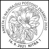 Anketa o najkrajšiu poštovú známku 2020