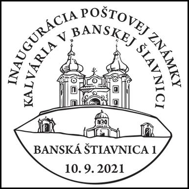 Inaugurácia poštovej známky Kalvária v Banskej Štiavnici