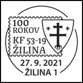100 rokov klubu filatelistov Žilina