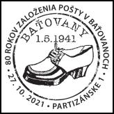 80 rokov založenia pošty v Baťovanoch